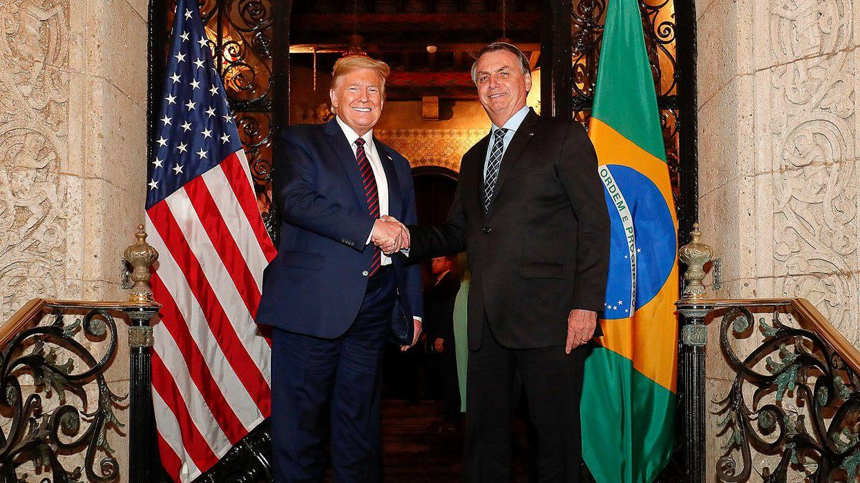 The signs are emerging that Brazil's Bolsonaro will follow in Trump's anti-democratic footsteps: report