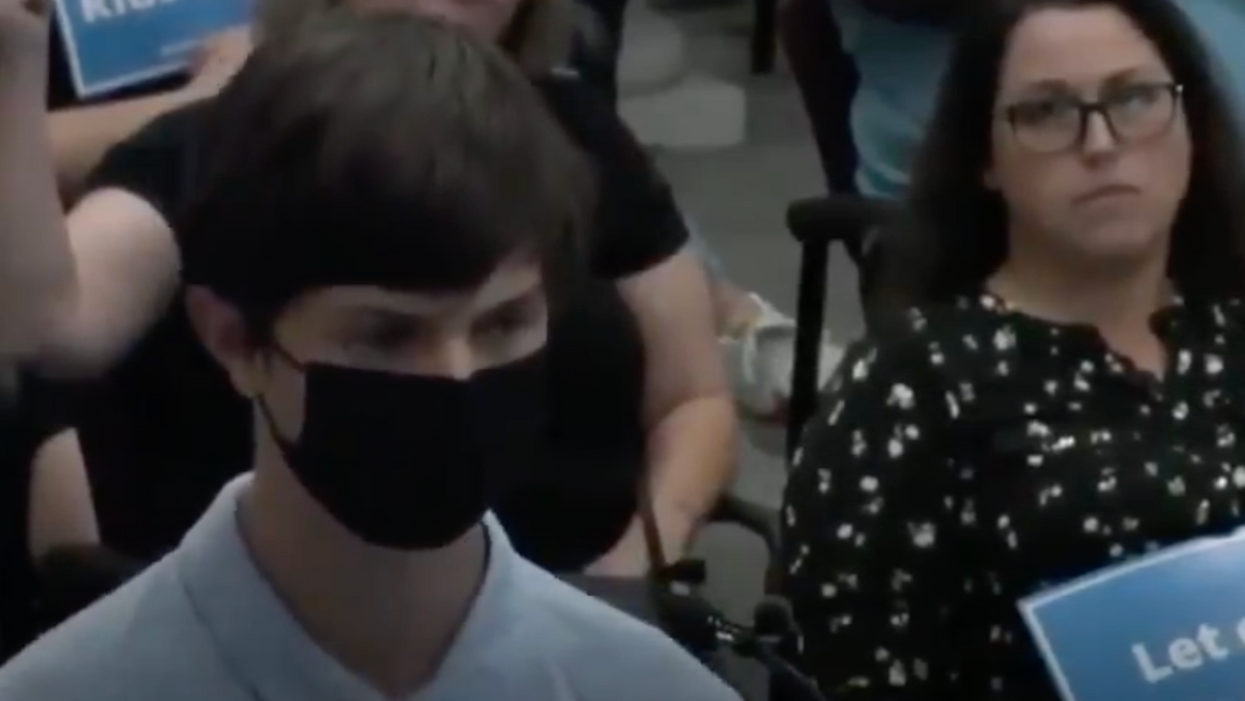 'Shut up!': Tennessee student gets heckled by anti-maskers while describing his grandmother's Covid death