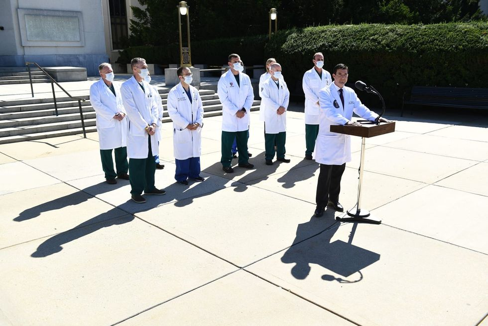 Not sure how sick Trump is with COVID-19? Doctors are puzzled too