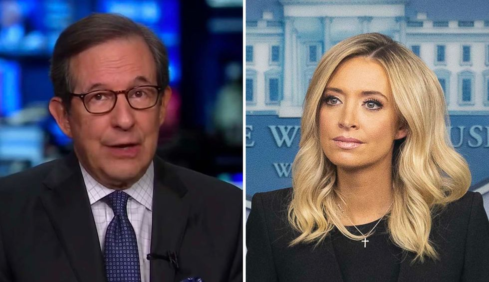 Chris Wallace rips into Kayleigh McEnany for questioning faith of White House reporters: 'I never saw a White House press secretary act like that'