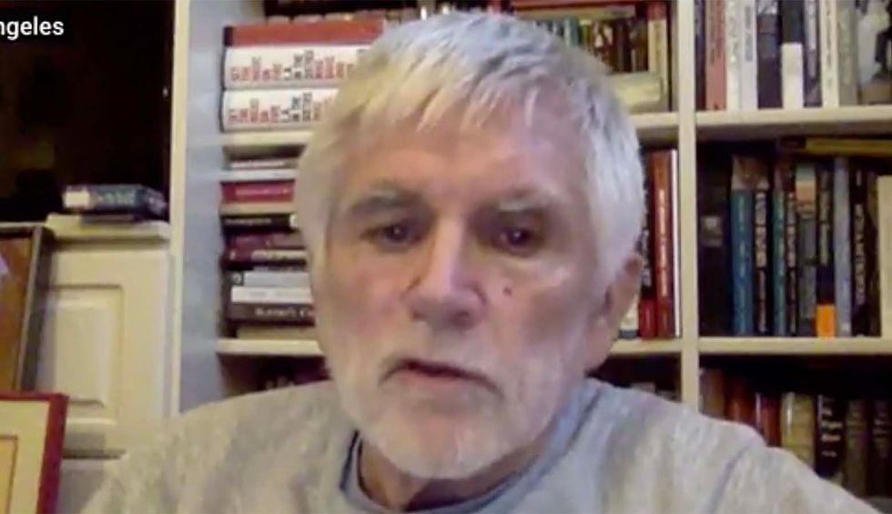 Writer and activist Mike Davis: Trump 'willing to sacrifice tens of thousands of American lives for his personal fetish'