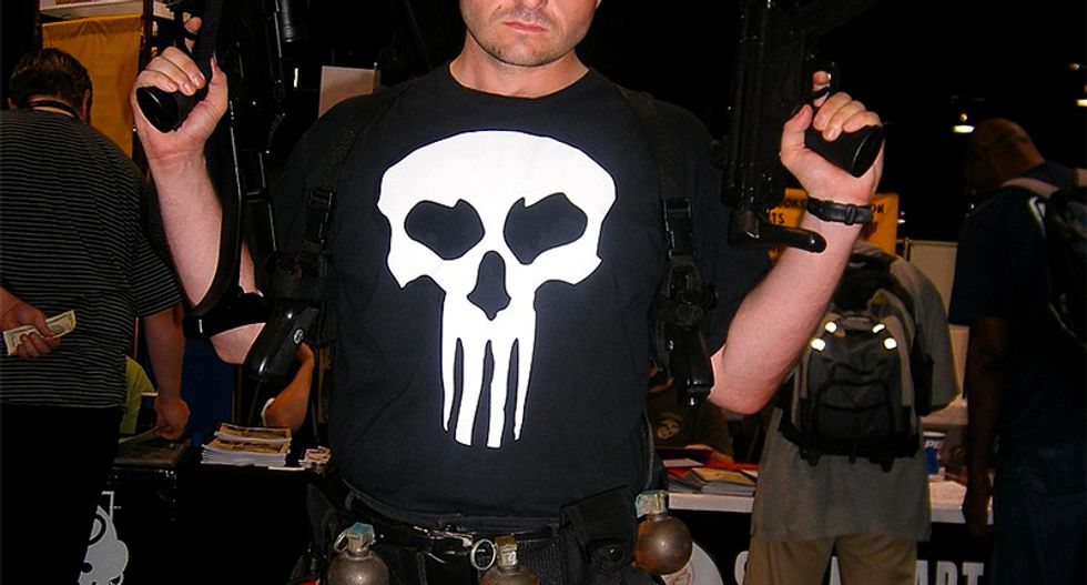 The Punisher and the white American death cult: How Marvel's vigilante was adopted by deluded macho wingnuts who completely miss the point of the character