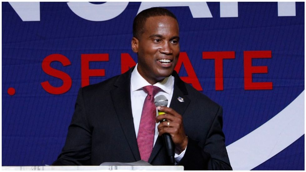 Leaked video: GOP Senate candidate told black leaders it's pointless to call out Trump racism