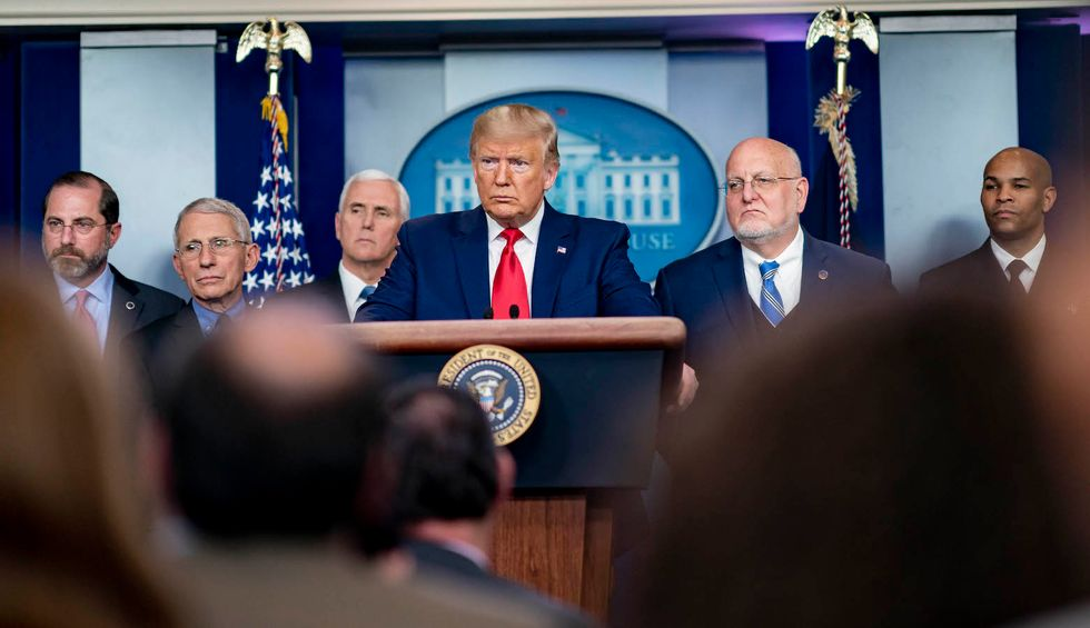 Trump has 'sidelined' the coronavirus task force — abdicating responsibility for the staggering death toll
