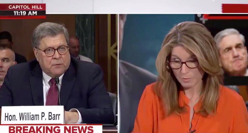 Networks are fact-checking Bill Barrs outrageous lies in real-time