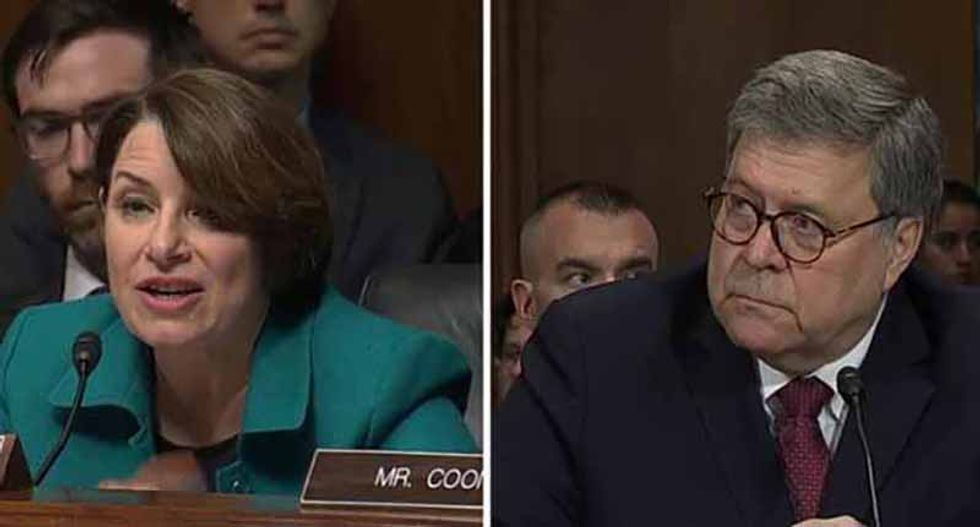 Senate Democrats don't have the power to impeach Barr — but they can make him look like a blubbering fool