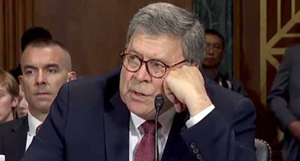Trump asserts executive privilege over Mueller report in last bid effort to protect Bill Barr from Congress