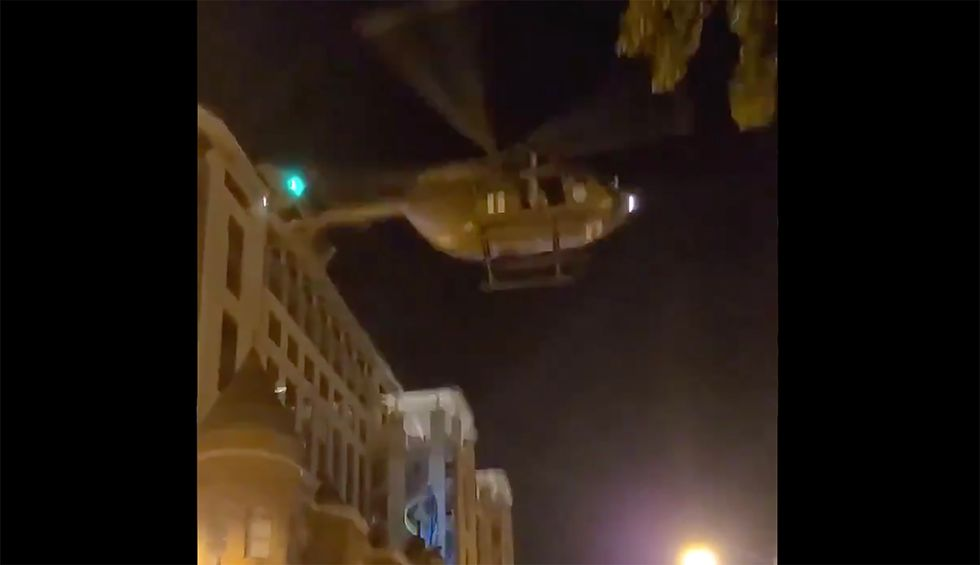 DC National Guard to investigate use of a helicopter to disperse George Floyd protestors in the US capital: report
