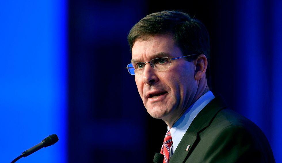 Defense Secretary Esper wants to stop federal law enforcement agents dressing like US troops: Pentagon spokesman