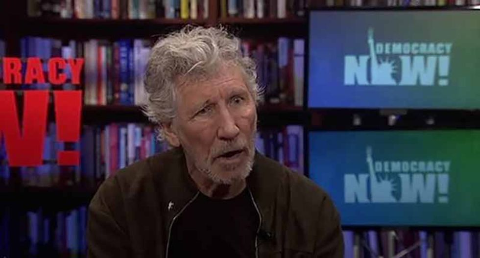 Roger Waters on Palestine: 'You have to stand up for people's human rights all over the world'