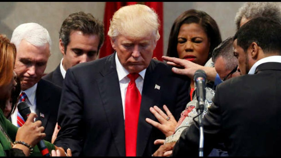 'Jesus didn't come to make us rich': How Trump's popularity among evangelicals exposes them for what they really are