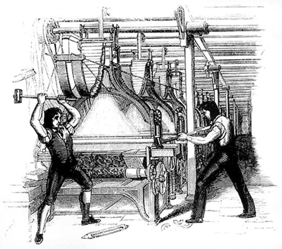 Here's what the Luddites were right about