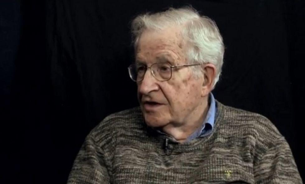 Noam Chomsky: Revival of hate is encouraged by Trump's rhetoric