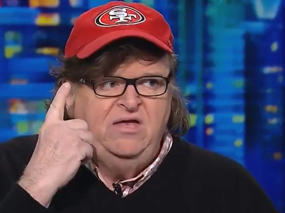Watch: Michael Moore got in shouting match with Bill Maher — and the comedian lost an expensive bet
