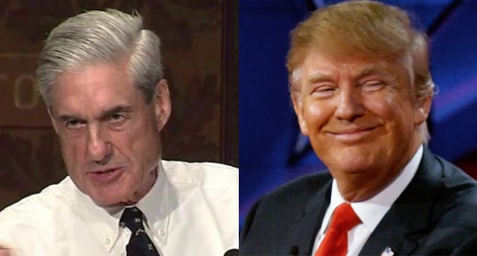 Here are 5 of the most bizarre moments from Trump's bonkers Mueller rant on the White House lawn