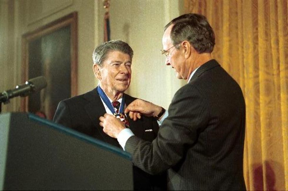 Reagan was a crook and a racist. My community always knew that