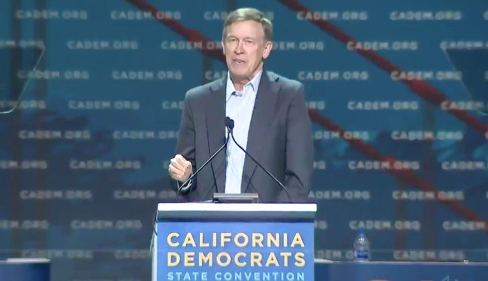 Hickenlooper booed at California Democratic Convention for decrying socialism: 'Read the room'