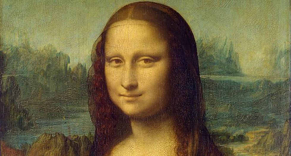 Cognitive scientists say Mona Lisa's asymmetric smile was fake
