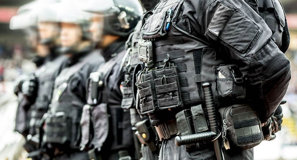 The 1980 bank robbery that led to the militarization of America's police force