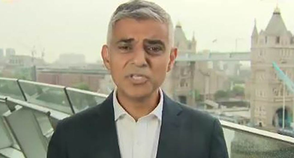 London mayor to Trump: 'You're a poster boy for the far-right movement around the world'
