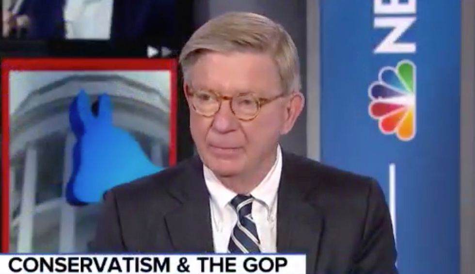 Veteran conservative journalist George Will: The GOP has 'become a cult' of Trump