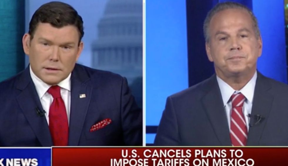 Democratic congressman educates Fox News viewers on Trump's 'criminal acts' after host Bret Baier twists the truth on Mueller