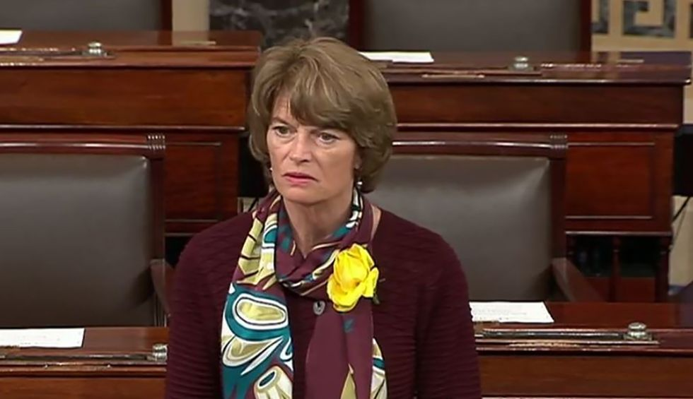 Murkowski says she is 'struggling' with whether or not to support Trump's reelection campaign — despite agreeing he's a threat to the country