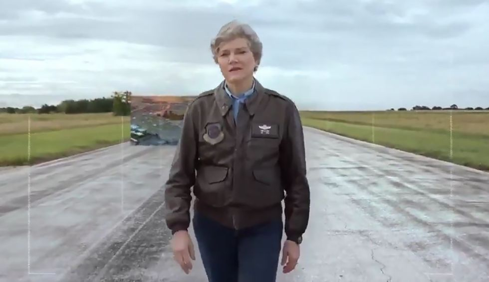Texas Democrat and veteran Kim Olson is coming for this GOP rep's seat