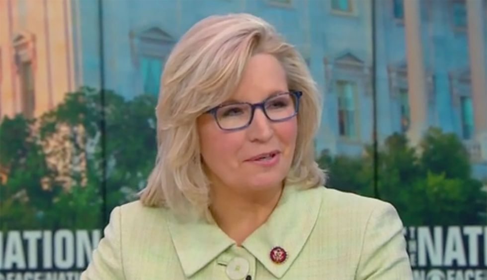 CBS cuts off combative interview with Liz Cheney after she attacks host for asking about Trump's racism
