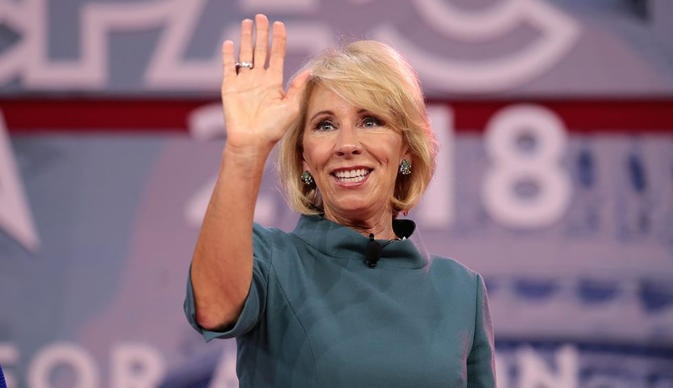 Michigan governor slams Betsy DeVos for her ties to a far-right anti-lockdown protest group