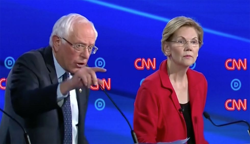 The media falsely paints Warren and Sanders as the 'radical Left' —and skews U.S. politics to favor the right wing