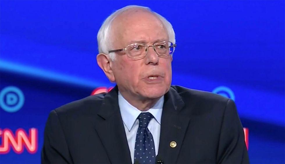Bernie Sanders 'acing the electability test' as polls shows senator crushing Trump in general election