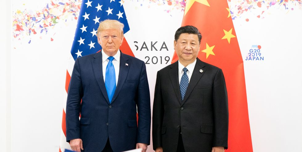 Trump's sudden surrender in his trade war with China shows he still has no idea what he's doing