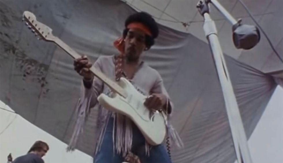 Fifty years ago, Jimi Hendrix's Woodstock anthem expressed the hopes and fears of a nation