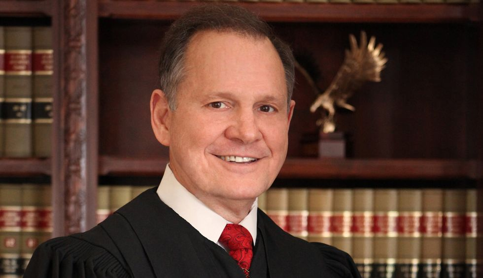 Roy Moore: 'Do you know what transgender is? That's not biblical'