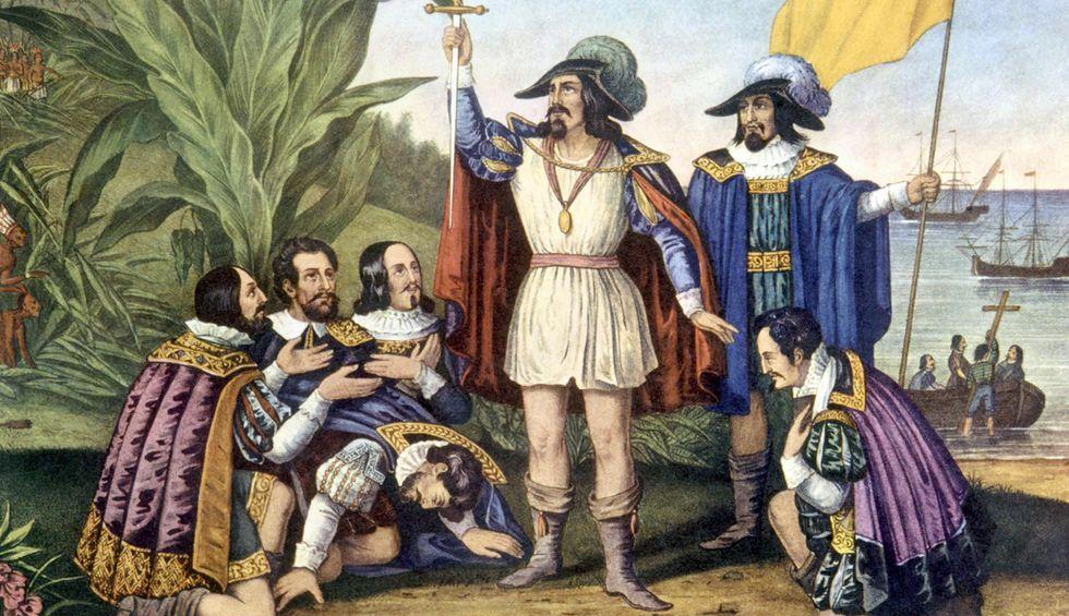 Christopher Columbus was the Donald Trump of his era