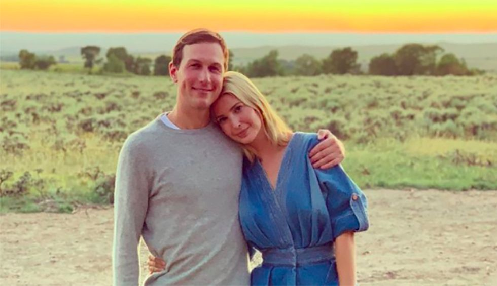 Trump blasted for praising Ivanka and Jared on vacation: 'Everybody works harder than those two morons'