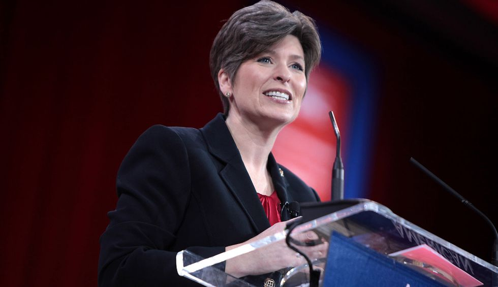 Joni Ernst torn to shreds for whining about Democratic impeachment inquiry: 'Embarrassed you're my senator'
