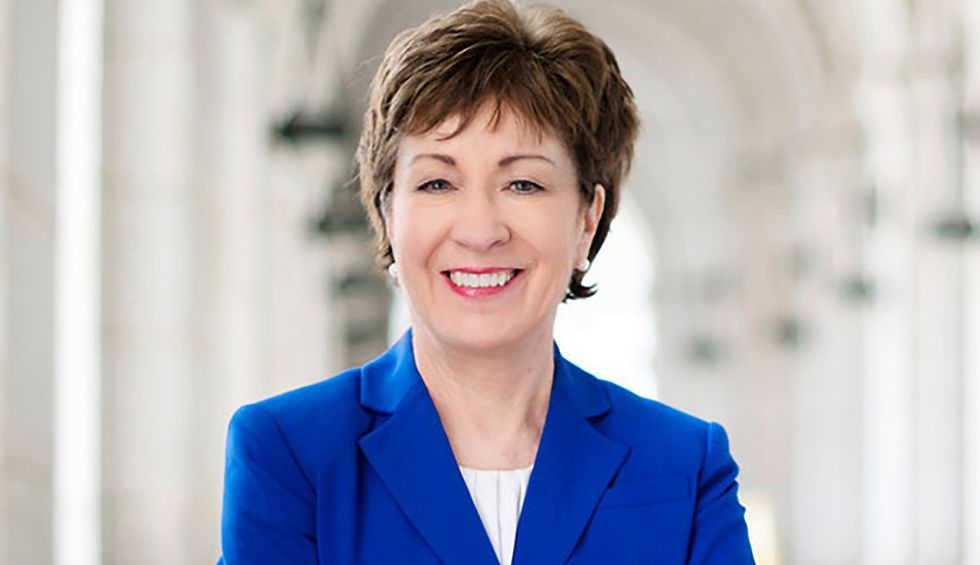 Susan Collins says she really can't comment on impeachment — but that's not stopping her from prejudging the evidence