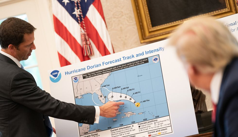 Chief NOAA scientist launches probe into agency decision to side with Trump over its own experts on Dorian
