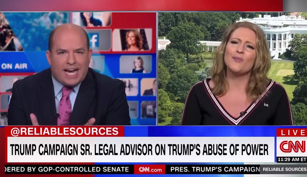 Trump attorney spirals out in unhinged CNN rant claiming Trump is winning except in 'junk science' polls