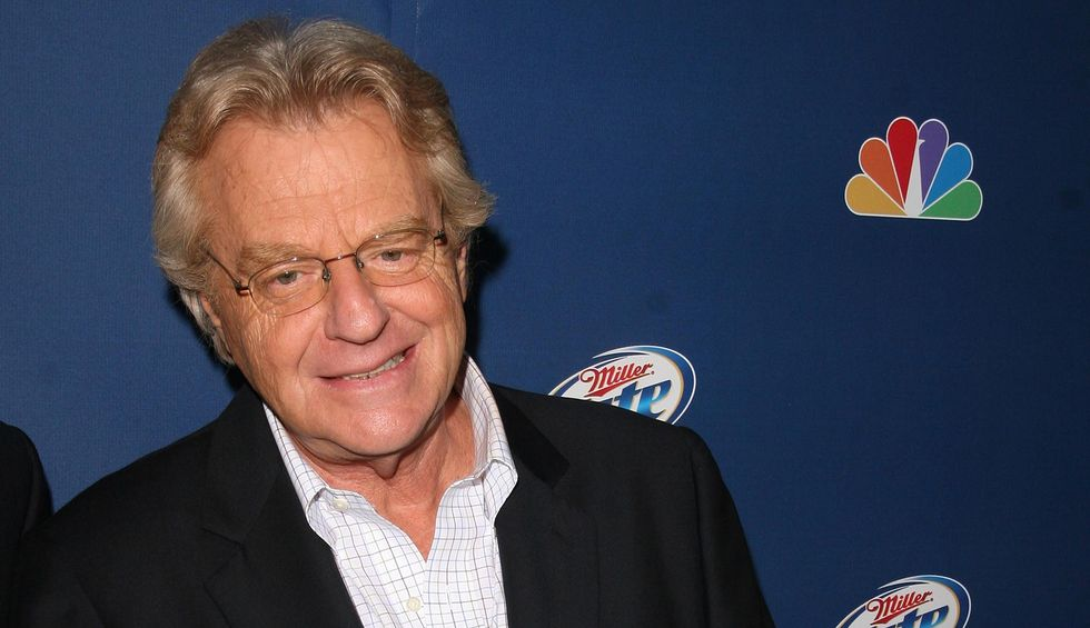 Jerry Springer: Trump 'took my show and brought it to the White House'