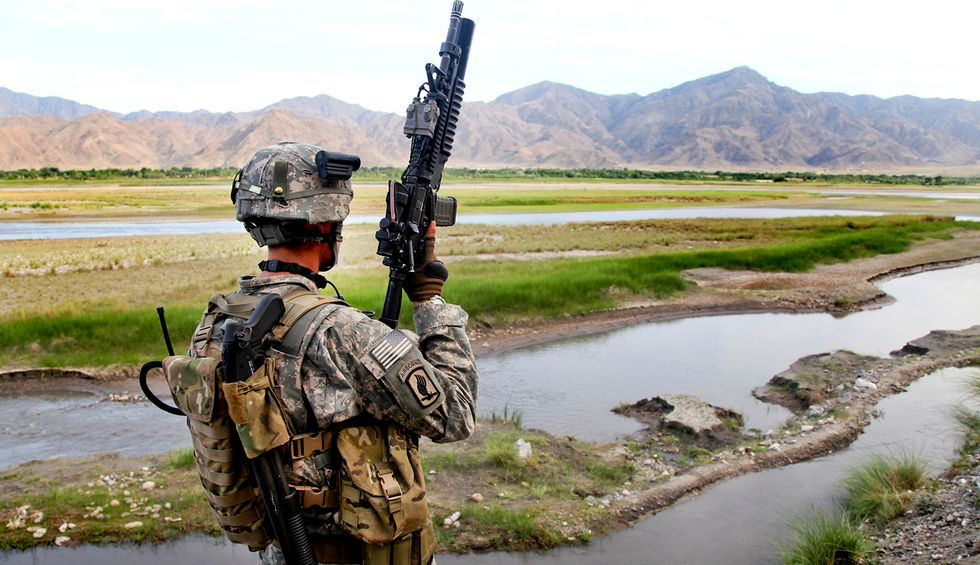 So are we ever getting out of Afghanistan? That looks like a no