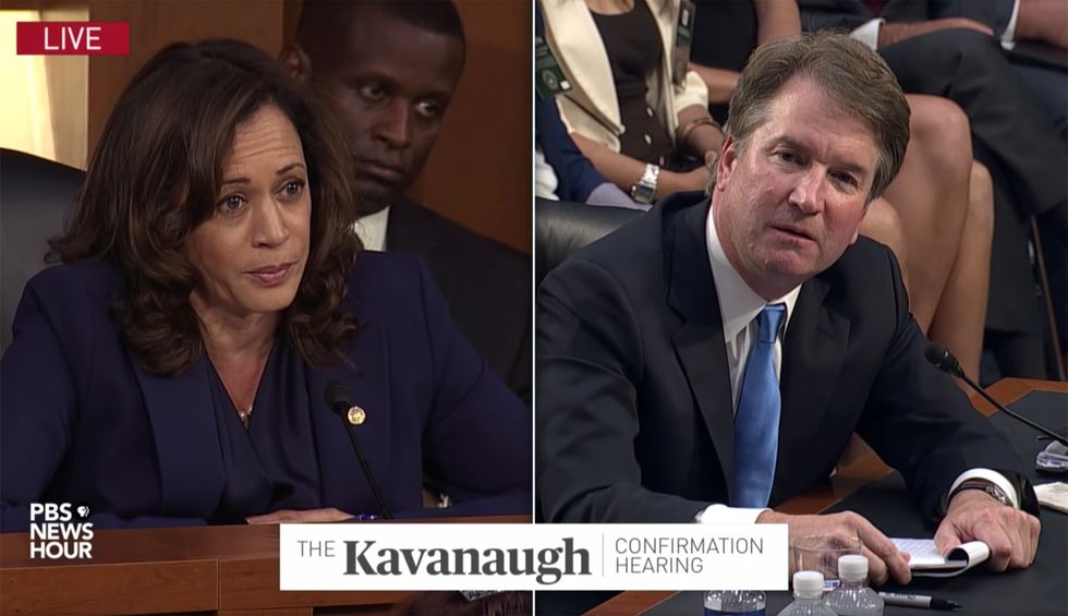 Kamala Harris slams Kavanaugh for lying to her during his hearings — and calls for him to be impeached
