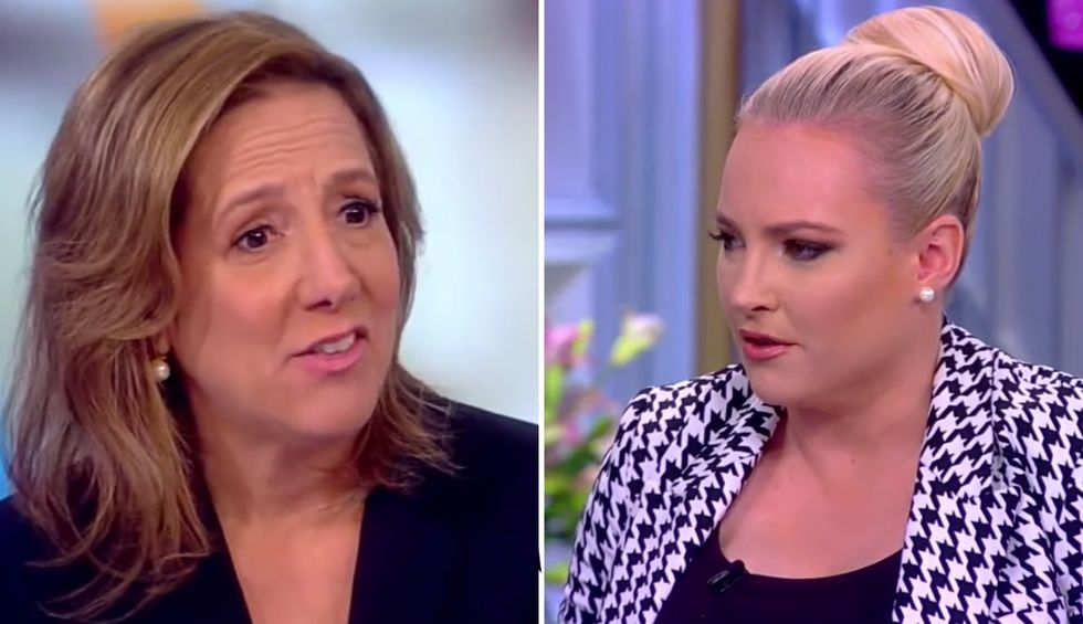 Watch: Kavanaugh book authors battle The View's Meghan McCain over New York Times uproar