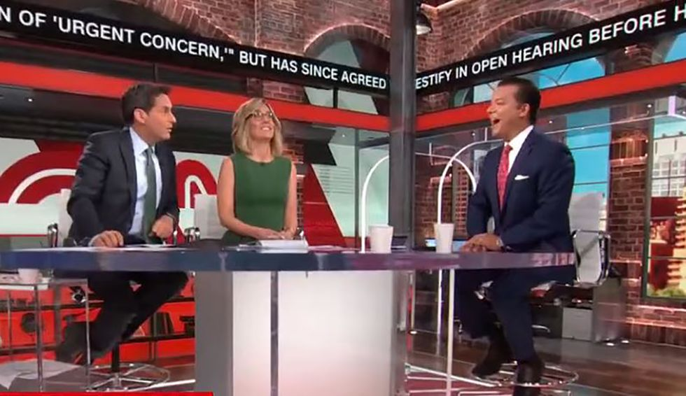Whistleblower forced to come forward because intel officials consider Trump a 'security risk': CNN's Avlon