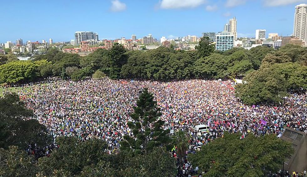 WATCH: What the 'biggest day of climate action in planetary history' looks like as millions strike worldwide