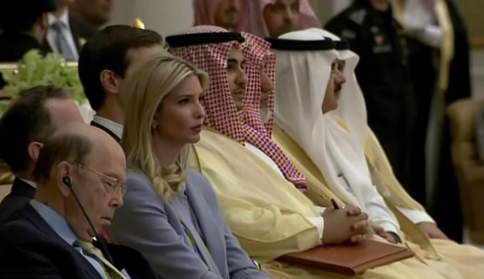 Watch: The whole world is Wilbur Ross — who appeared to fall asleep during ultra-nationalist Trump speech at UN