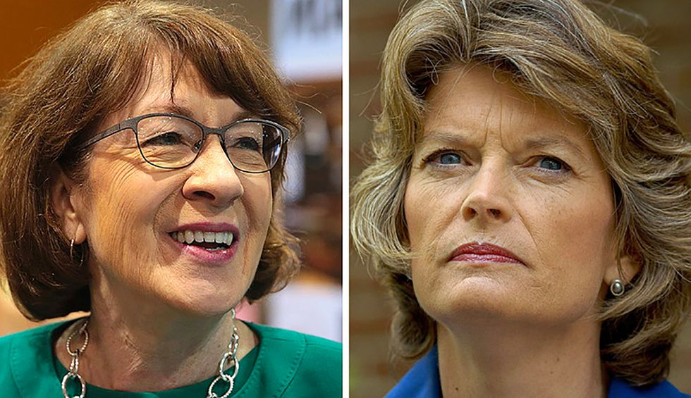 Democrats urged to 'pick a fight for once' over RBG seat as Collins and Murkowski oppose pre-election vote