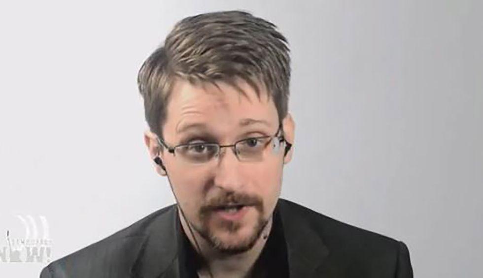 Edward Snowden blasts Trump's mistreatment of whistleblower who exposed Ukraine scandal